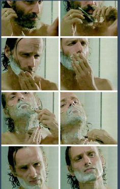 How to shave like a grimes. #TheWalkingDead