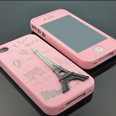 pink effiel tower phone case re-Pinned by #conceptcandieinteriors #girly