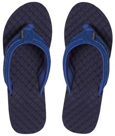 15a4605673a1cc Weird Fish Knider Waffle Imperial Blue Flip Flops