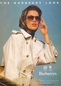 Vintage ad for 'The Burberry Look,' 1991 - Found in Mom's Basement