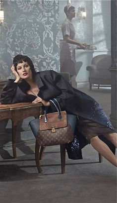 7033258d8725 Louis Vuitton ad campaign- i need that purse !