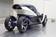 As ruas precisam de espaço e menos poluição. As soluções não páram de chegar, como essa apresentada no último salão do automóvel em Frankfur...