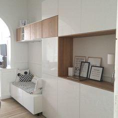 Meubles Ikea - method Idée rangement pièce à vivre du studio