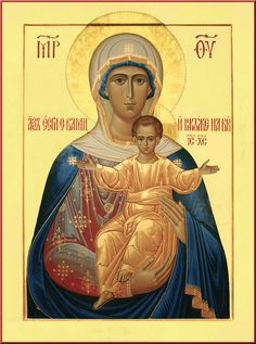 """""""If I an with you no one can be against you"""" / Afbeeldingsresultaat voor леушинская икона божией матери Byzantine Icons, Byzantine Art, Blessed Mother Mary, Blessed Virgin Mary, Religious Icons, Religious Art, Our Lady Of Rosary, Mama Mary, Jesus Christus"""