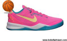 Low Price Dynamic Pink Nike Kobe 8 GS Basketball Shoes Shop