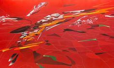 Londýn vystavuje malby a kresby od Zahy Hadid