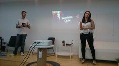 En @valencia_lab  @JaimeGrauF y @MTatay de @beprisma_ nos mostraron la #gamificacion en tiempo real  #florida #universidad #innovacion #marketing #digital #online #visual #comunicacion #branding #emprendedor #videojuegos #game #gamers #gamification #empresa #motivacion #valencia