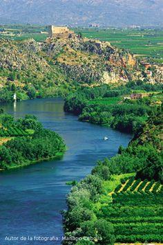 Turismo Terres de l'Ebre: Terres de l'Ebre en imágenes, Delta del Ebro, Faro del Fangar, flamencos, Castillo de Miravet