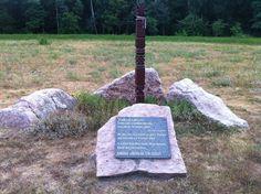 Kisbodak Az 1951. július 15.-ei árvíz emlékműve