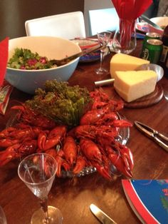 Swedish krayfish party