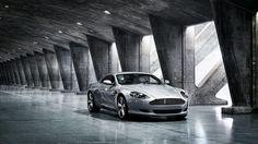 Grey Aston Martin Db9  #Aston #Car #Db9 #Grey #Martin #sport-car #super-car #wallpaper #desktopwallpaper #hdwallpaper #car #speed
