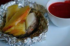 Uwielbiam wątróbkę, uwielbiam maliny, uwielbiam też grillowanie :) Dodałam te 3 elementy i suma stała się niebanalną potrawą z grilla. Wystarczyło klasycznie połączyć wątróbkę z cebulą, jabłkami i …