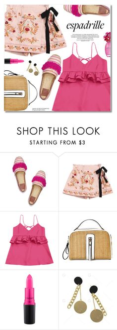 """Espadrille"" by fshionme ❤ liked on Polyvore featuring Tory Burch, MAC Cosmetics and espadrilles"