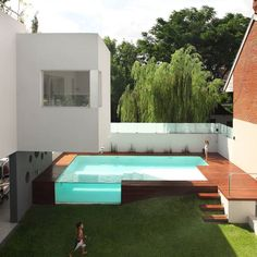 #Pool Devoto #House in #Argentina designed by Andres Remy #Architects / Photo by Alejandro Peral.  Tag an #Architecture Lover! #d_signers by d.signers