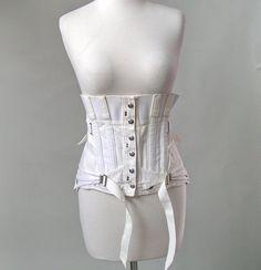 Orthopedic boned corset girdle