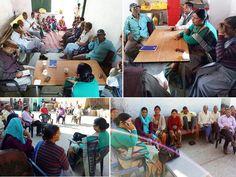 यमकेश्वर ब्लॉक के सर ग्राम सभा में घरेलु हिंसा व योजनाओ की जानकारी देते हुए ।