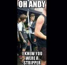 It's official-andy is a stripper <---- Can his stripper name be Famous Anus? Emo Band Memes, Emo Bands, Music Bands, Rock Bands, Black Viel Brides, Black Veil Brides Andy, Andy Black, Andy Biersack, Screamo Bands