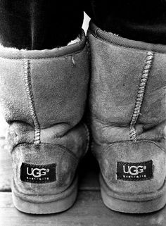 uggs  nothing will keep your feet warmer during the Minnesota winter!