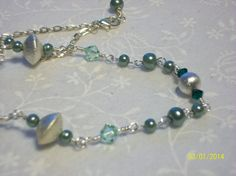 Just a few days left! Swarovski Green Crystal & Glass Pearl by DysfunctionalAries, $14.00