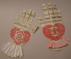 Woven heart and hand tutorial