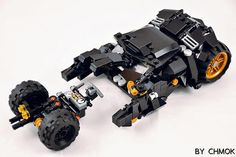 BatMobile and Pod #legos#legobricks#legomoc#legostagram#batman#batmanvssuperman#DC#legomocs#Lego | by 莫古