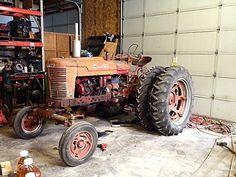 brandiesel:  1947 Farmall md (diesel) lambert brake conversion