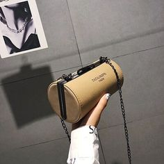 Fashion round mini crossbody bags for women nubuck PU leather lady cylinder handbags Mini Crossbody Bag, Cross Body Handbags, Pu Leather, Lady, Women, Fashion, Moda, Crochet Shoulder Bags, Fashion Styles
