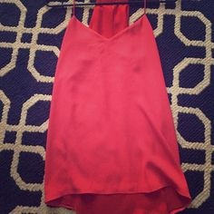 Reversible express Barcelona tank! Red and pink!  Express Tops Tank Tops