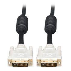 3 m, DVI-D, DVI-D, Macho, Macho, Negro TM C2G Cable de v/ídeo Digital de 3 m DVI-D Cables DVI M//M Dual Link