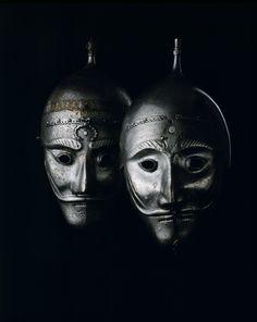 Sixteenth-century Persian War masks are kept at the Kremlin Armory.