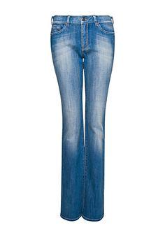 MANGO - Jeans boot-cut vita alta