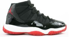 Nike Air Jordan 11 Retro (BRED) Black-Varsity Red-White