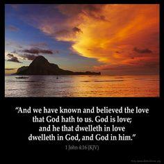 1 John 4:16 #faith #bible