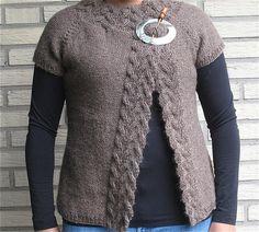 rosamund's cardigan by knit1spin1, via Flickr