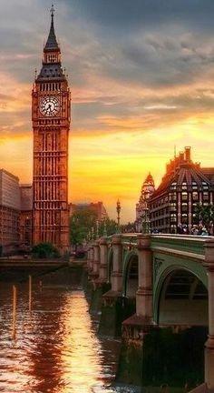Londres y su famoso Big Ben.