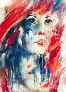 Agnes Cecile'nin rengarenk sulu boya resimleri..