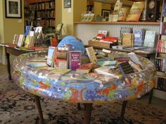 Summer Reading Pool at A Novel Experience, Zebulon, GA. via Books & What Not blog