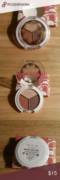 Pacifica  coconut eye shadow Beautiful colors only swatched... never used on eyes ... Pacifica  Makeup Eyeshadow
