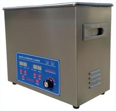 Adjustable Power Ultrasonic Cleaner 6L