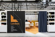 ThirdWay Architecture designed the pop-up lab and offices for the UK's largest commercial property developer, Landsec, located in London, England. Workplace Design, Property Development, France, Pop Up, Architecture Design, Lab, London, Offices, Interior