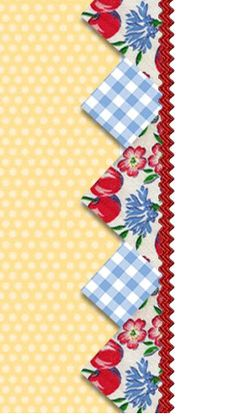 Cute prairie point border idea.  #quilting #prairiepoint #borders