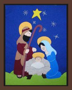 Quilling Christmas, Christmas Art, Christmas Decorations, Xmas, Christmas Ornaments, Nativity Ornaments, Felt Ornaments, Dot Painting, Painting Patterns