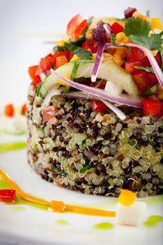 Andina, peruvian food  Quinoa the best motor