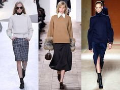 La maille verticale Michael Kors Fall, Look Chic, Fashion Week, Stay Warm, Cold Weather, New York, Coat, Sweaters, Pants