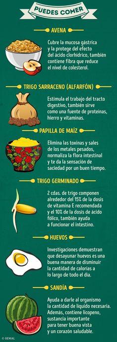 20Alimentos que puedes comer enayunas yaquellos que nodebes  #salud #healthy