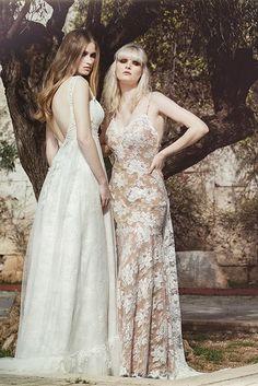 Eleni Kollarou / Lace wedding dresses