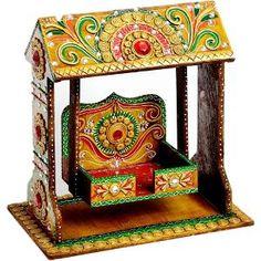 Aapno Rajasthan Pooja Jhula in Wood