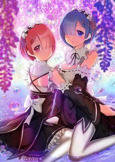 Cute oni sisters [Re:Zero] : awwnime
