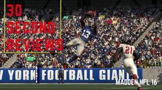 30 SECOND REVIEWS: Madden NFL 16 - On a mad one