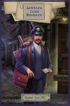 Send this Postman Awem e-card to your friends (Letters from Nowhere for PC)!